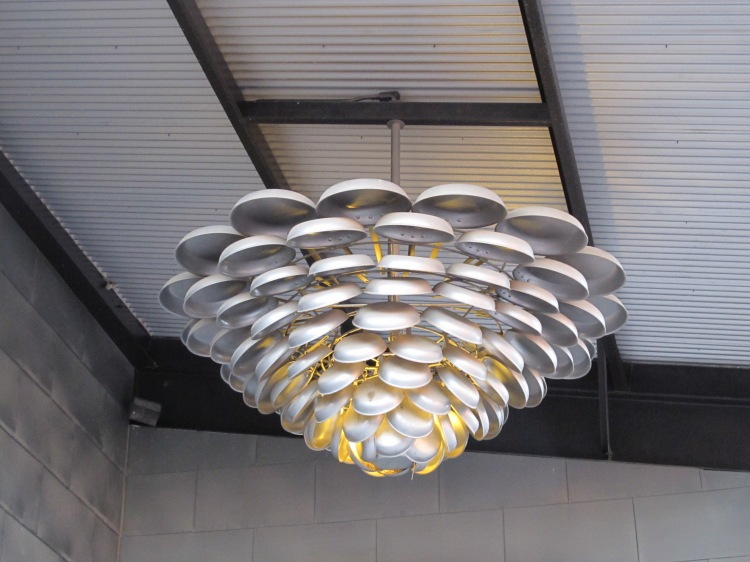 CIA light fixture