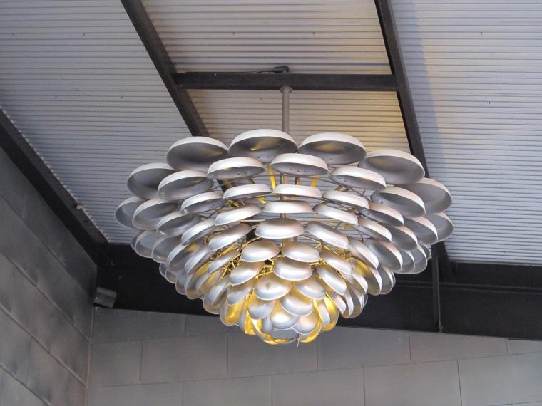 CIA light fixture