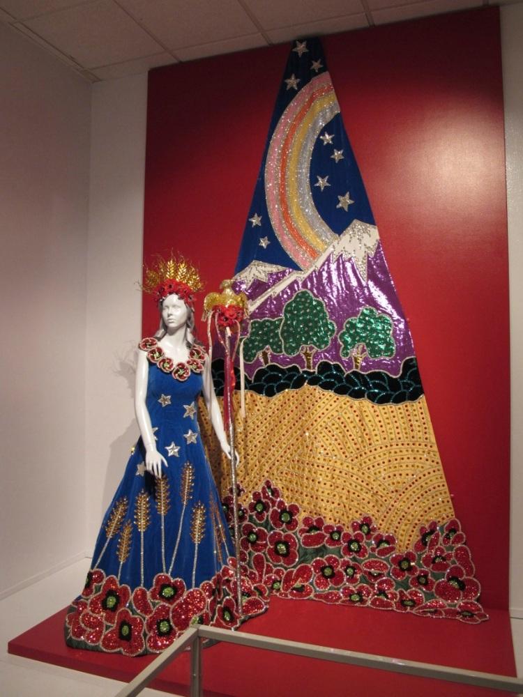 Fiesta gown
