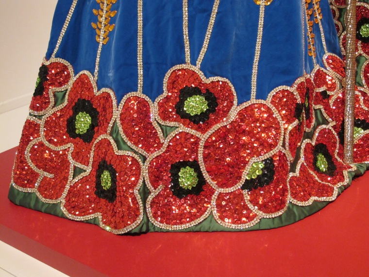 gown detail