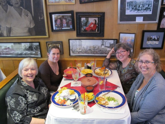 lunch at Mi Tierra