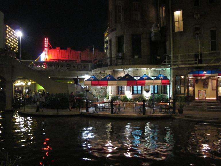 Riverwalk view