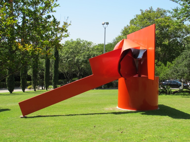 sculpture at McNay