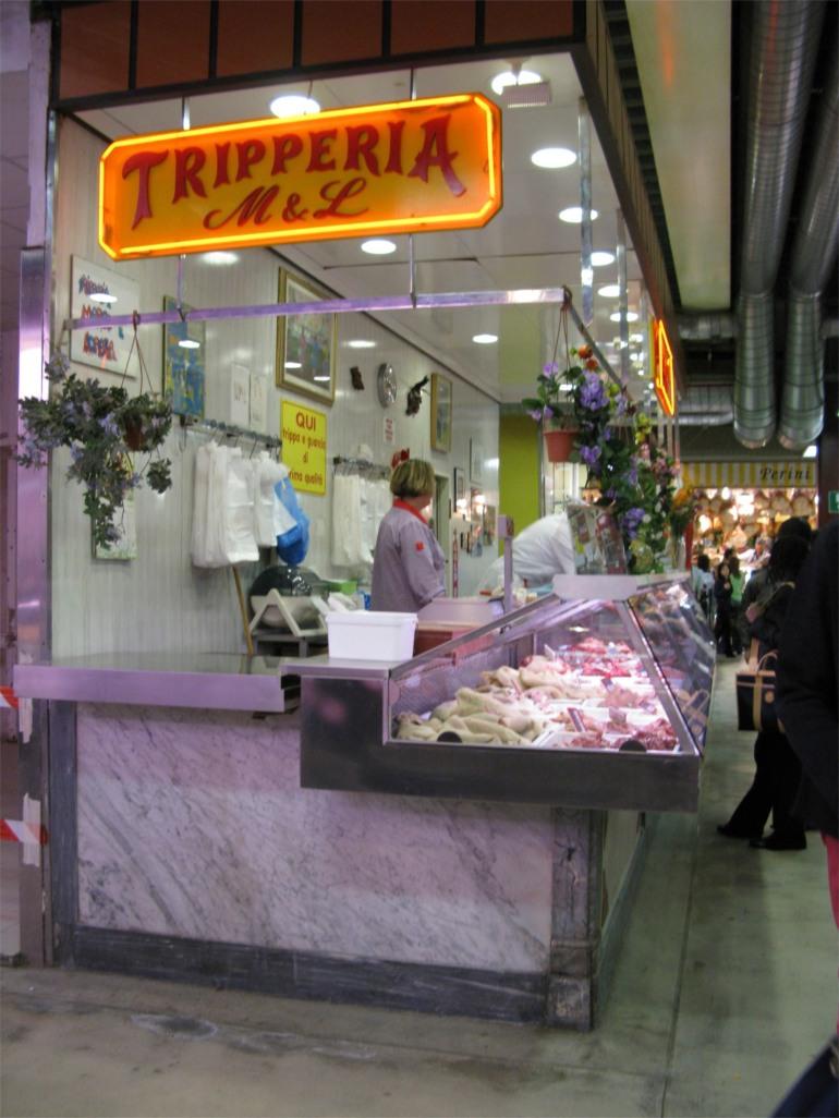 tripe shope in Italian market