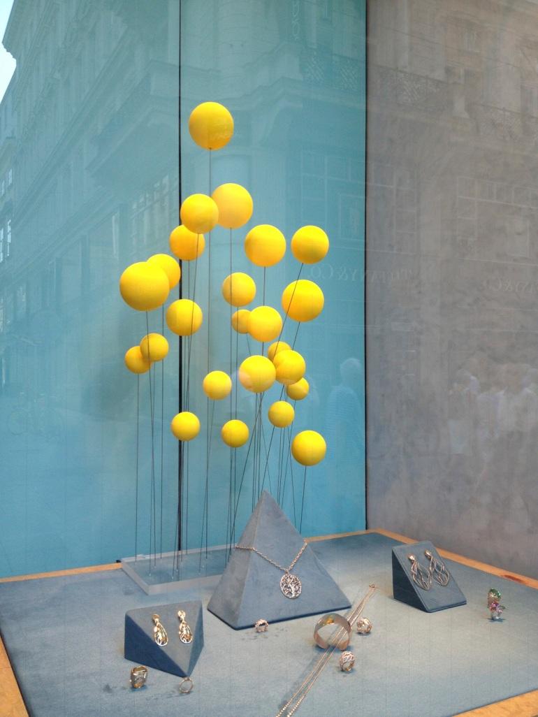 window display in Vienna