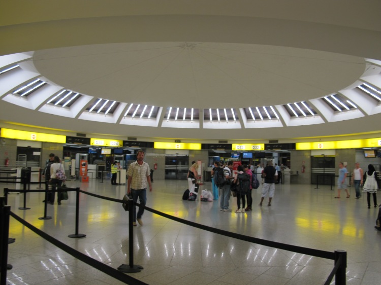 airport departure gates