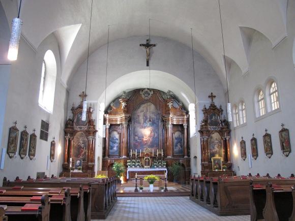 Capuchin Church interior