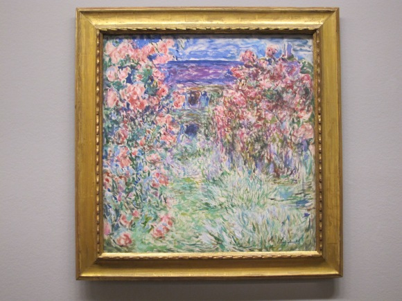 Claude Monet - House Among the Roses