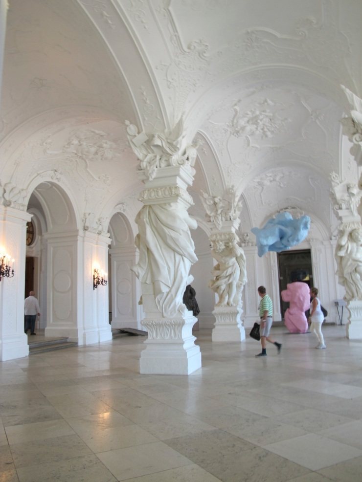 entry hall Belvedere