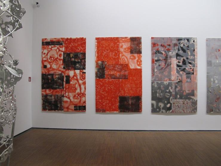 Gunter Damisch exhibit