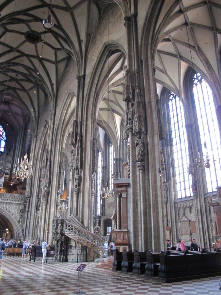 interior view - St. Stephen's Church, Vienna, Austria