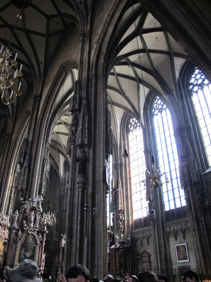 interior view - St. Stephen's Church, Vienna, Austria