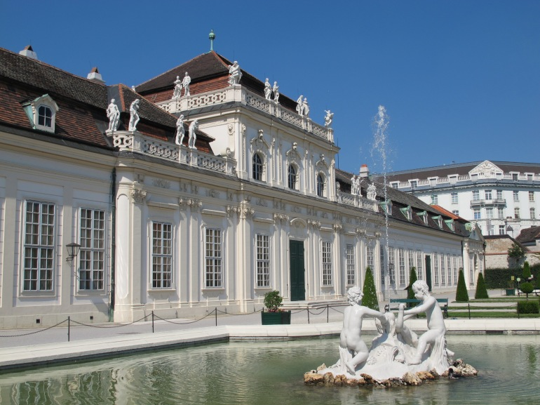 Belvedere - lower palace