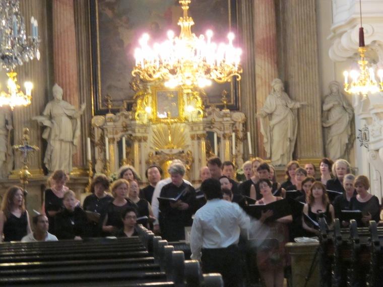 choir at Mercy Church