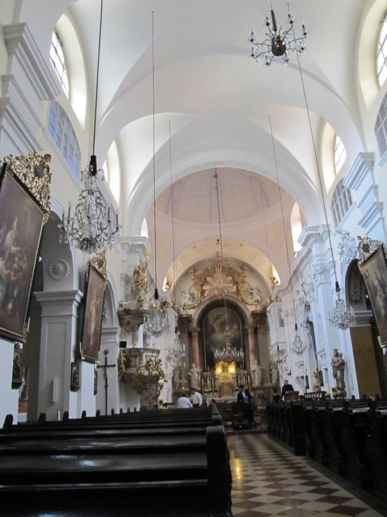 Mercy Church interior