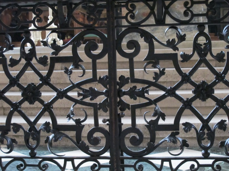 interior metal fence