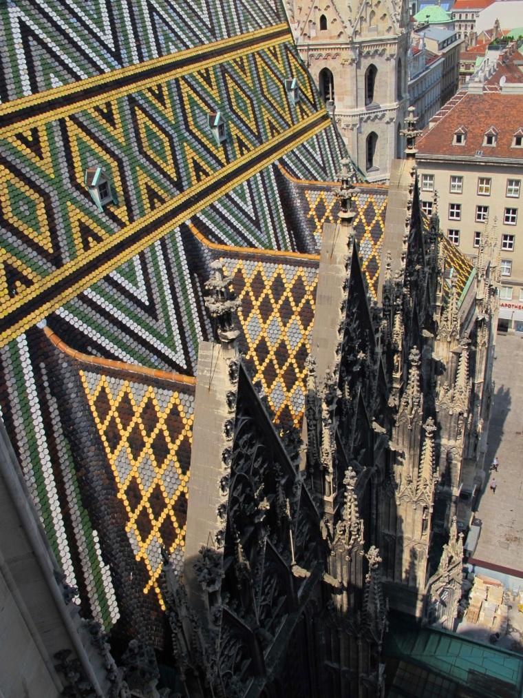 St. Stephen's tile roof