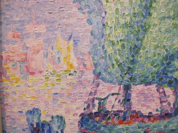 Paul Signat - detail of Venice, the Pink Cloud