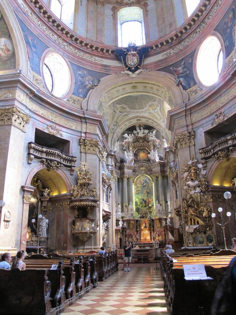 St. Peter's interior