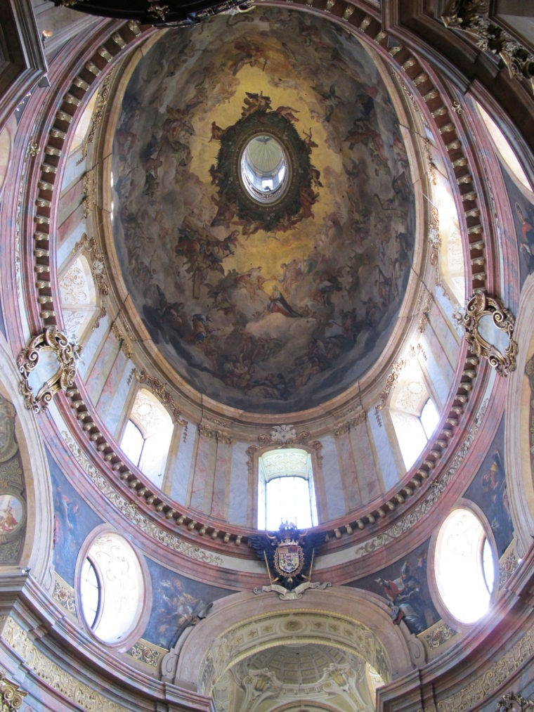 St. Peter's ceiling