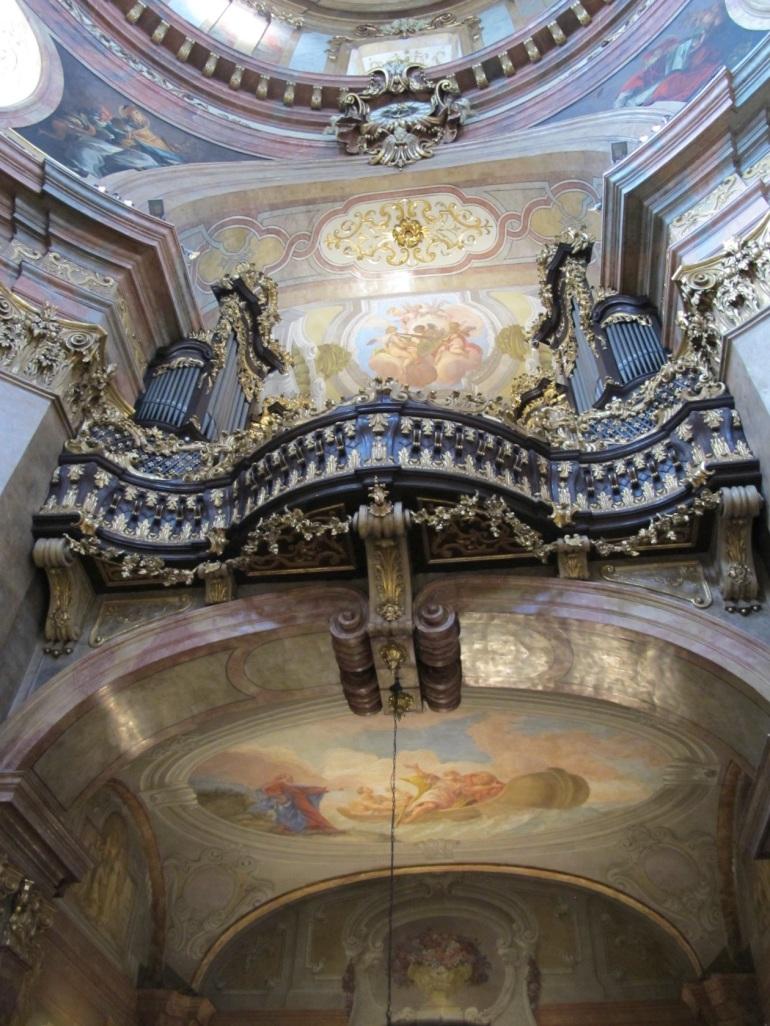 organ at St. Peter's Church