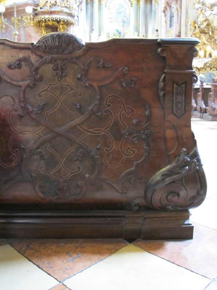 St. Peter's Church pew