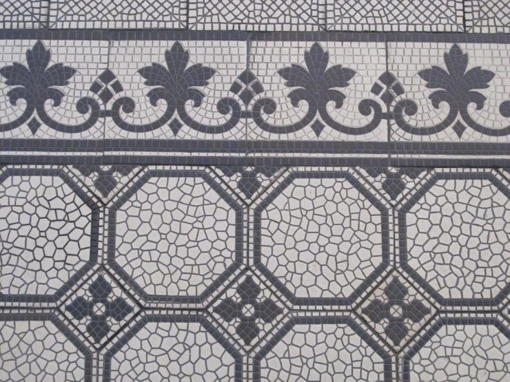 tile floor, Capuchin Church
