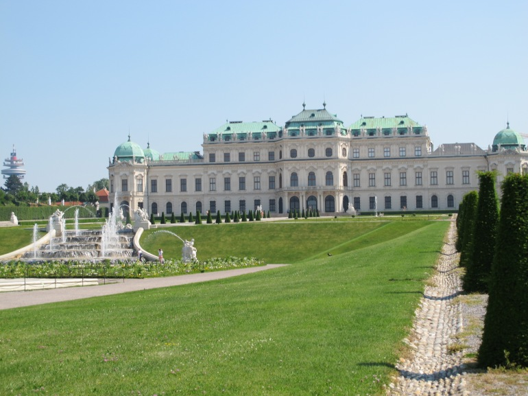 Belvedere - upper palace