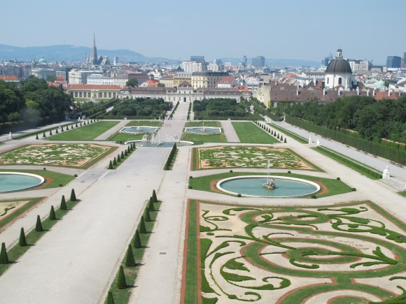view from Belvedere Palace