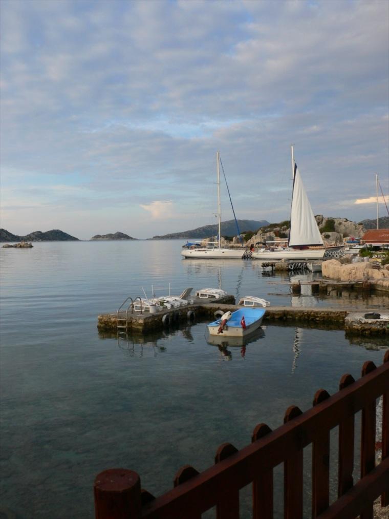 bay view, Kalekoy, Turkey