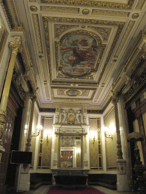 beautiful room, Vienna Opera House