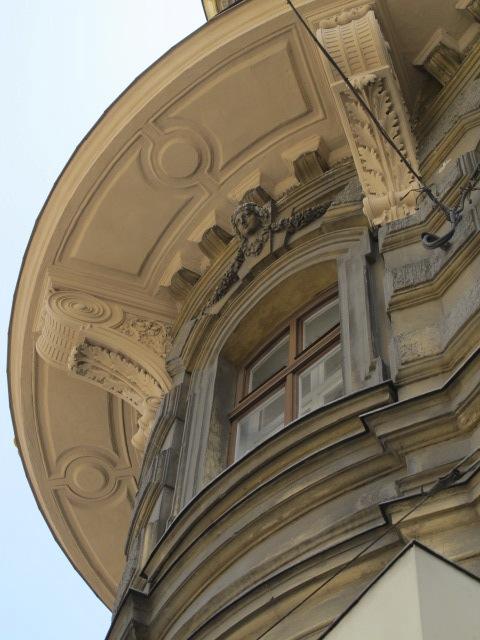 building soffit detail, Vienna