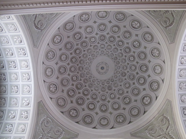 alternate view of church ceiling detail, Vienna