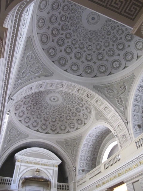 beautiful church ceiling, Vienna