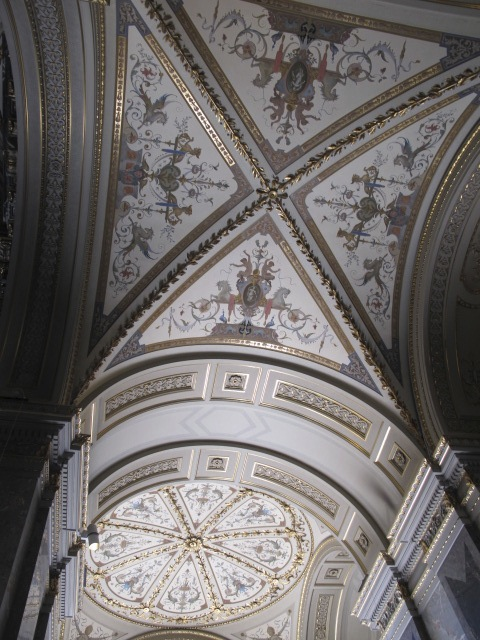 beautiful ceiling,  Kunsthistorisches Museum Vienna, Austria