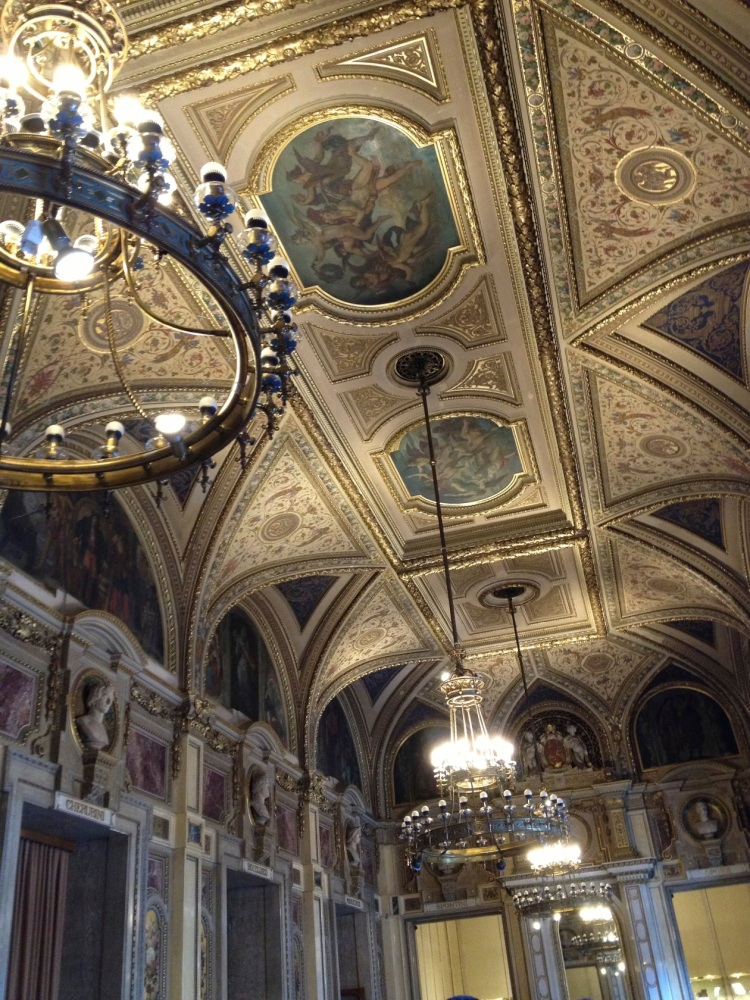 ceiling in Vienna Opera House