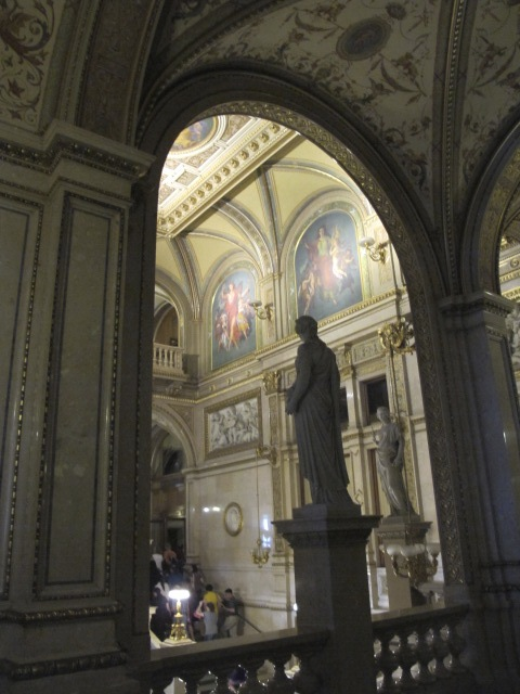 central area of Vienna Opera House