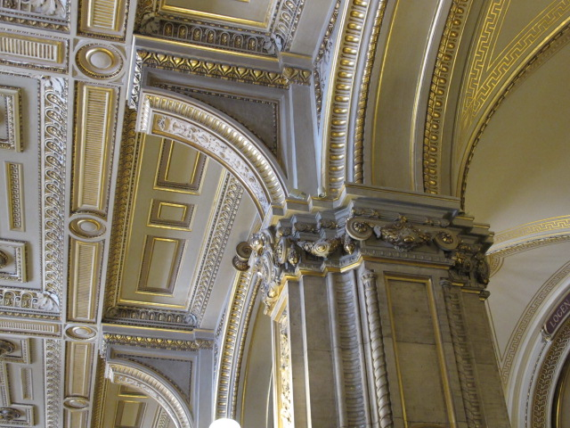 column top, Vienna Opera House