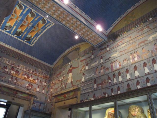 Egyptian room, Kunsthistorisches Museum Vienna, Austria