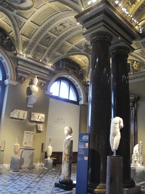 exhibit room, Kunsthistorisches Museum Vienna, Austria