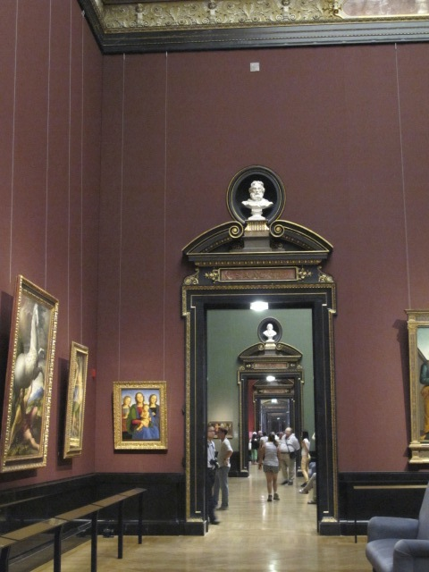 exhibit rooms, Kunsthistorisches Museum Vienna, Austria