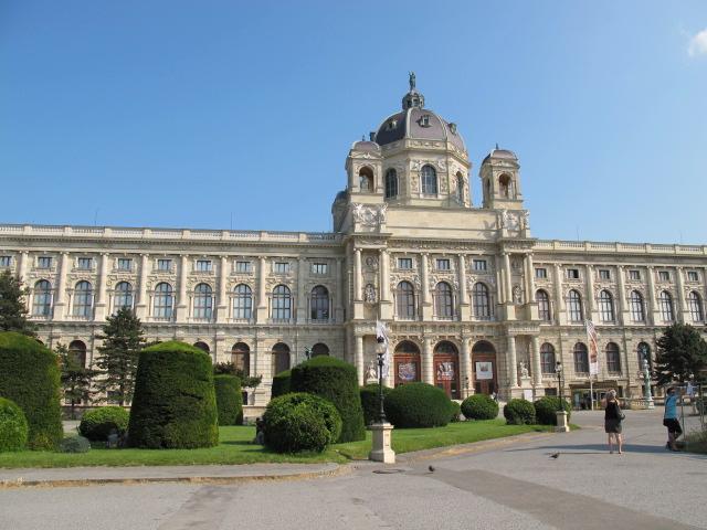 exterior, Kunsthistorisches Museum Vienna, Austria