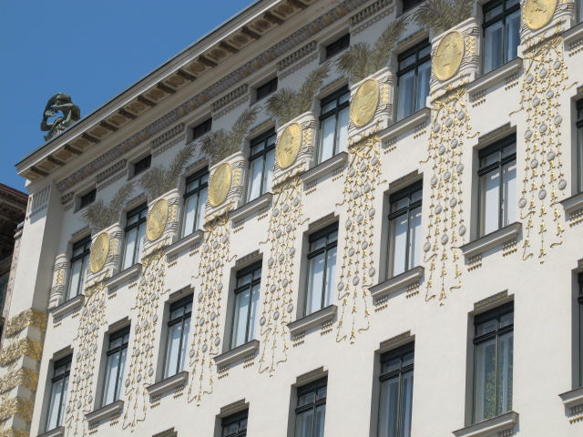 building exterior decoration, Vienna