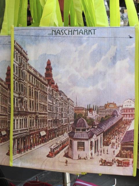 market bag, Naschmarkt, Vienna