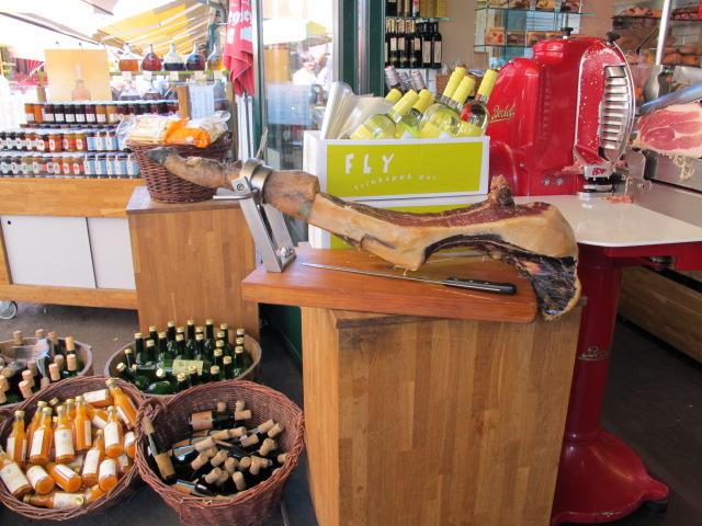 deli meat, Naschmarkt, Vienna