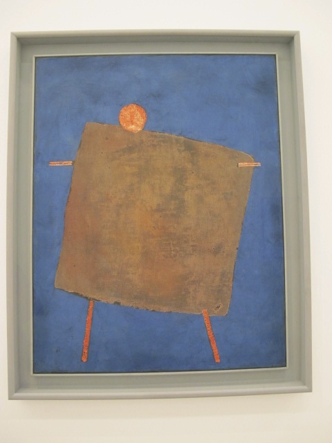 Scarecrow by Paul Klee, MUMOK, Vienna, Austria