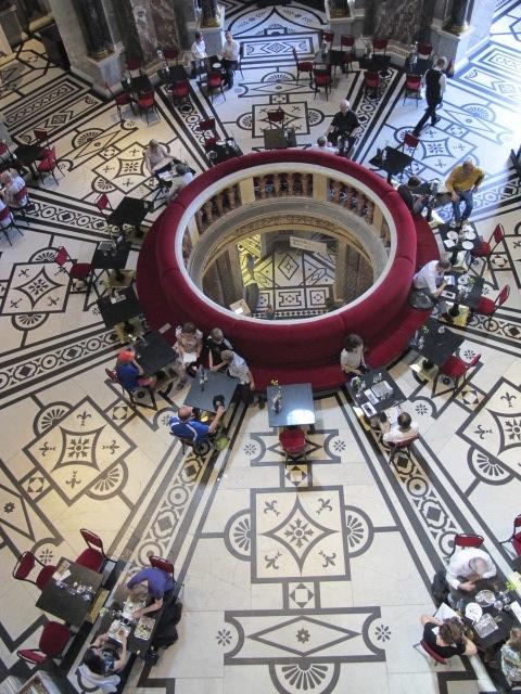 restaurant, Kunsthistorisches Museum Vienna, Austria