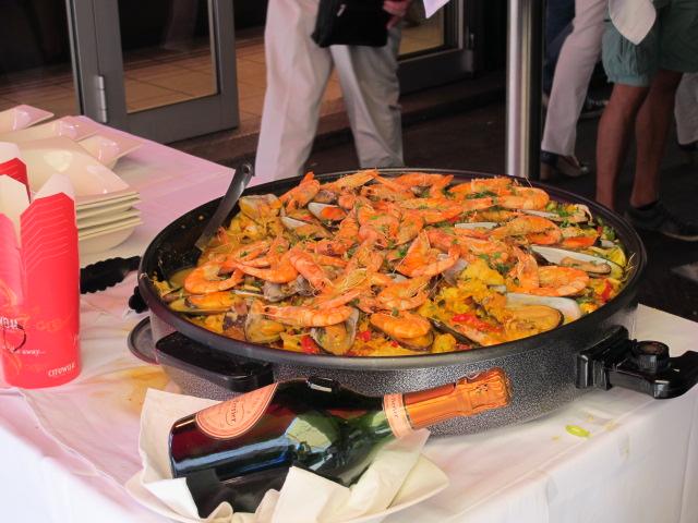 delicious looking shrimp, Naschmarkt, Vienna