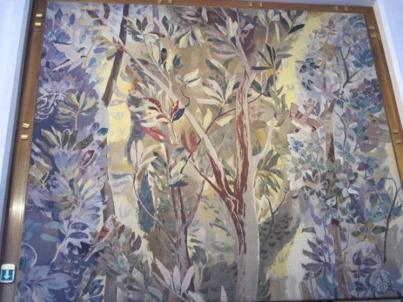 tapestry panel, Vienna Opera House