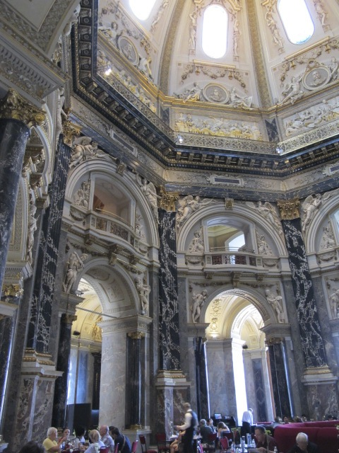 under the dome, Kunsthistorisches Museum Vienna, Austria